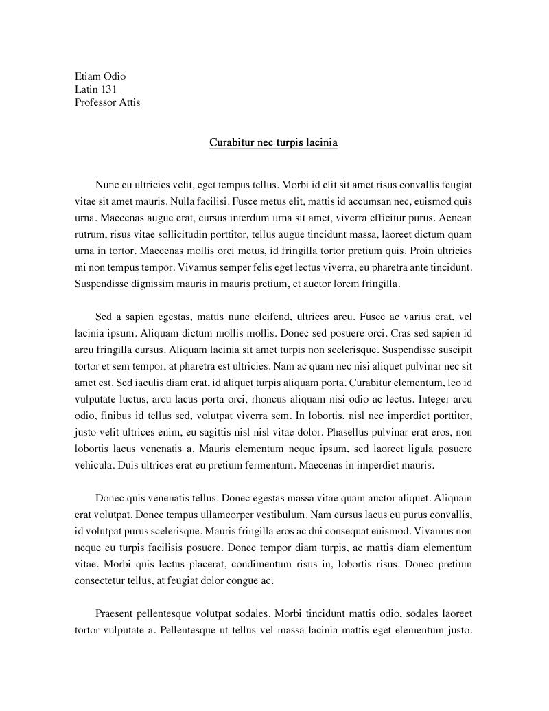 Gender analysis essay