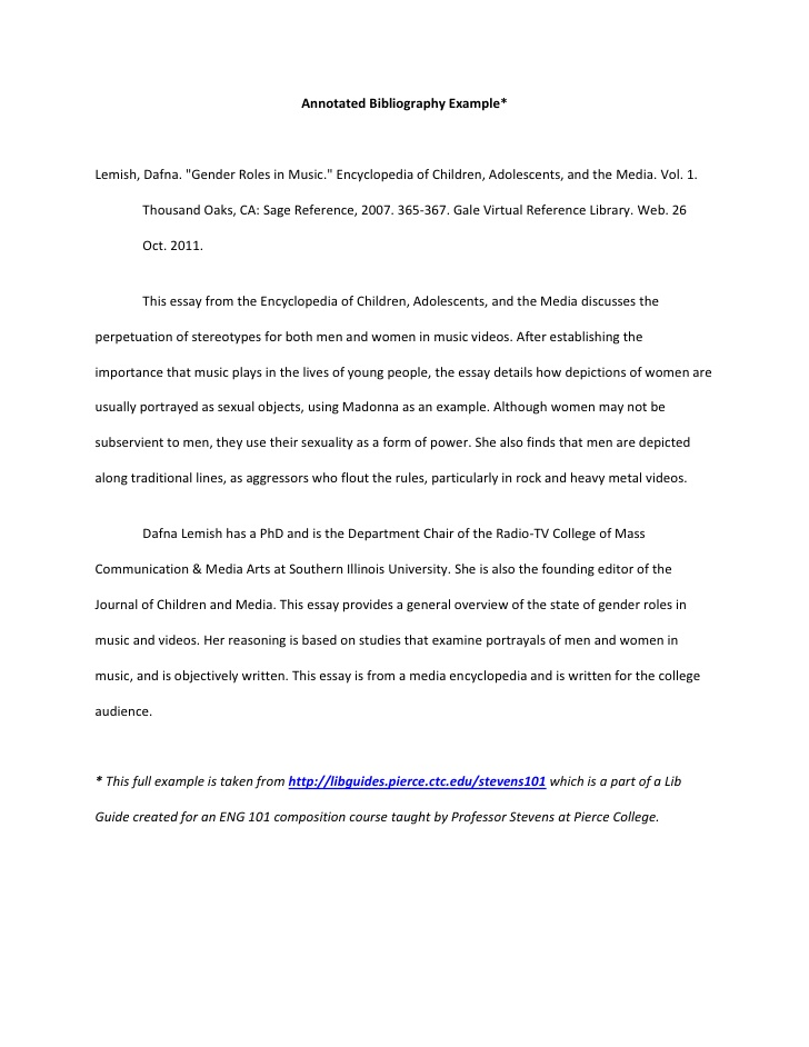 annotated bibliography 2 essay An annotated bibliography is a list of sources on a selected topic accompanied by a brief summary and evaluation of each source annotated bibliographies often go beyond summary to tell the reader something important about their central question or topic, and how each source connects to it.